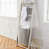 Pottery Barn Teen Wall Leaning Storage Rack With Hamper