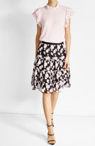 Giambattista Valli Embroidered Cotton Skirt