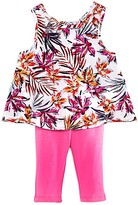 Splendid Girls' Tropical Print Top & Leggings Set - Baby