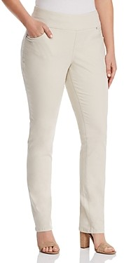 Jag Jeans Plus Peri Straight-Leg Jeans in Stone