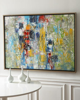 "John-Richard Collection Jinlu Blocks"" Painting"