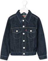 Levi's Kids chest pockets denim jacket