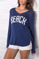 Wooden Ships Beach V-Neck