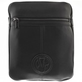 Versace Jeans Logo Shoulder Bag Black
