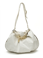 Oversized Slouchy Chain Hobo Tote