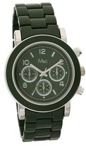 MC M&c Women's Trendy Chronograph Style &Silver-tone Watch
