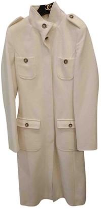 Valentino Beige Wool Coat for Women Vintage