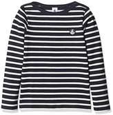 Petit Bateau Boy's Mariniere Long Sleeve Top,(Manufacturer Size:10A 10Ans)