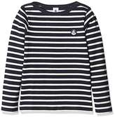 Petit Bateau Boy's Mariniere Long Sleeve Top,(Manufacturer Size:4A 4Ans)