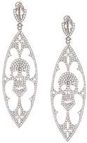Loree Rodkin diamond skull drop earrings