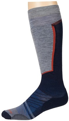 Smartwool PhD(r) Ski Light Elite (Deep Navy) Men's Crew Cut Socks Shoes