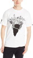 Crooks & Castles Men's Knit Crew T-Shirt Warped Tour