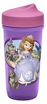 Zak Designs Toddlerific Perfect Flo Toddler Cup with Sofia The First, No-Spill by