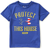 Under Armour Little Boys Size 4-7 Protect This House Crew Neck Short-Sleeve Tee