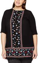 Evans Women's Embroidered Tunic T - Shirt