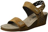 Mephisto Women's Marie Spark. Velsport 3644 Tobacco Open Toe Sandals brown Size: