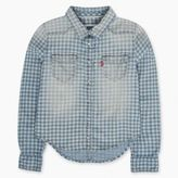 Levi's Toddler Girls (2T-4T) Western Shirt-Faded Gingham