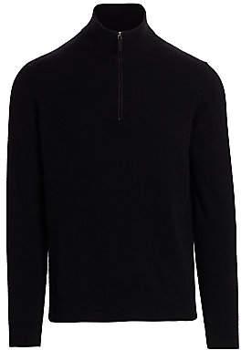 Saks Fifth Avenue Cashmere Half-Zip Sweater
