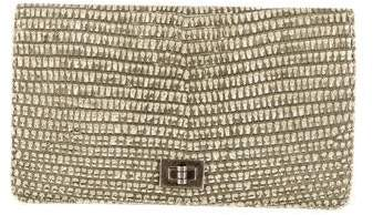 Chanel Lizard Bifold Wallet