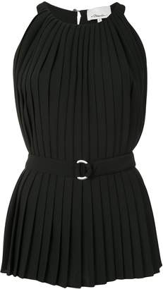 3.1 Phillip Lim Knife Pleat Belted Tank Top