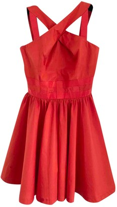 Versus Red Cotton Dress for Women