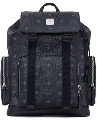 MCM Small Brandenberg Monogram Backpack
