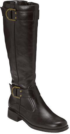 Aerosoles Ride Line Suede Riding Boots