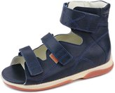 Memo Helios 3DA Boy's High-Top Ankle Support Orthopedic Leather Sandal, 36 (4.5K)