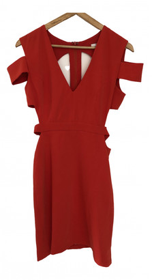 Asilio Red Cotton Dress for Women