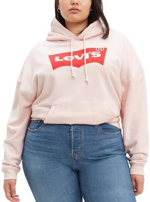 Levi's Plus Size Logo Hooded Sweatshirt