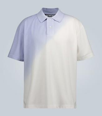 Jacquemus Le Polo Soleil gradient polo shirt