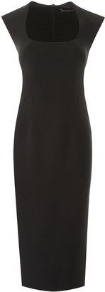 Dolce & Gabbana Sheath Midi Dress