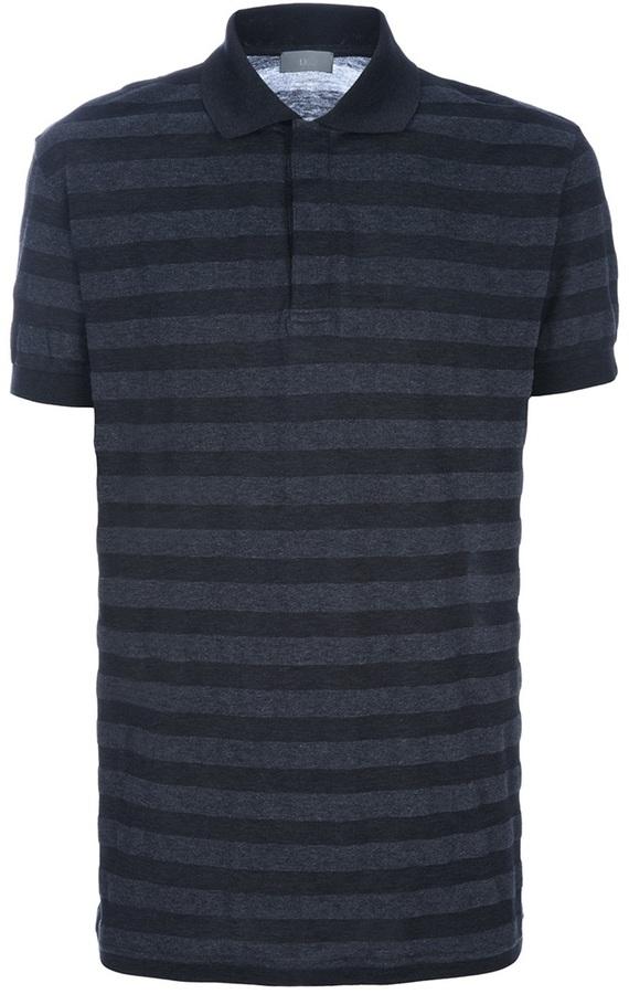 Christian Dior striped polo shirt