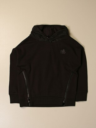 Moncler Sweatshirt With Double Zip And Logo