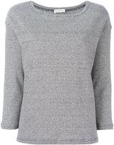 Masscob striped sweatshirt - women - Cotton/Linen/Flax - L