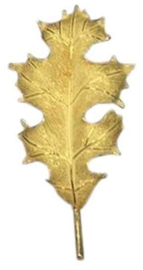 Tiffany & Co. 18K Yellow Gold Oak Leaf Brooch