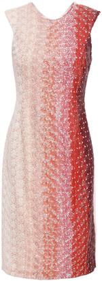 Missoni Embellished Degrade Crochet-knit Dress