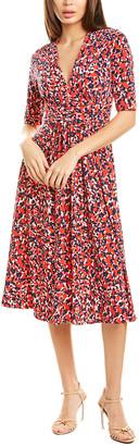 Vince Camuto Printed Midi Dress