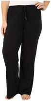 Yummie by Heather Thomson Plus Size Pima Jersey Wide Leg Pants