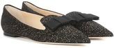 Jimmy Choo Gala glitter slippers