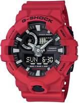 Casio Men's 'G SHOCK' Quartz Resin Casual Watch, Color: (Model: GA-700-4ACR)
