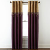 Royal Velvet Captiva Grommet-Top Curtain Panel
