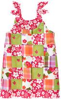 Gymboree Embroidered Flower Patchwork Dress