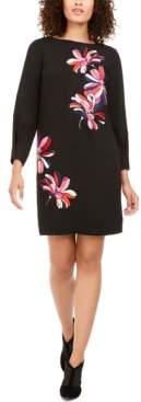 Trina Turk Calistoga Floral-Embroidered Dress