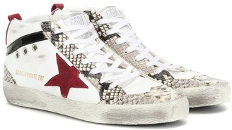 Golden Goose Exclusive to Mytheresa Mid Star leather sneakers