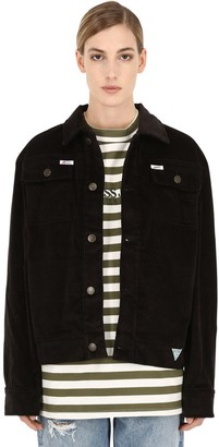 GUESS U.S.A.X Infinite Archives IA LS COTTON CORDUROY WORKER JACKET