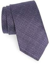 John Varvatos Men's Solid Silk Tie