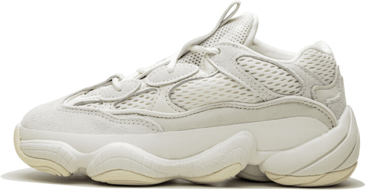 Adidas Yeezy 500 Kids 'Bone White' Shoes - Size 11K