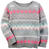 Carter's Baby Girl Fairisle Sweater