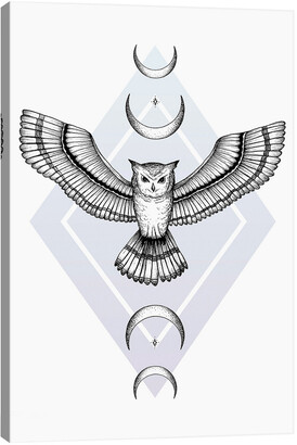 iCanvas Mystic Owl By Barlena Wall Art